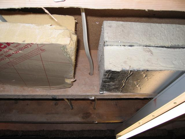Under Floor Insulation And Cables